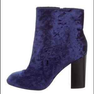 Rebecca Minkoff velvet ankle boots